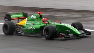 2013 Formula Renault 3.5 Cars with Pure V8 Sound