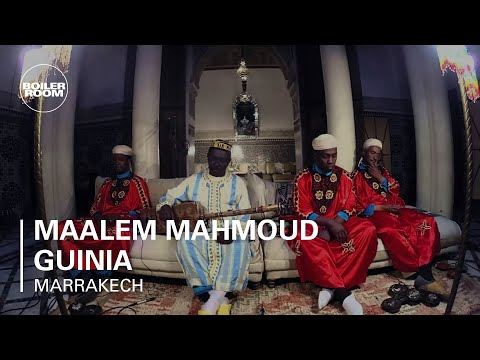 Maalem Mahmoud Guinia Boiler Room Marrakech Live Performance
