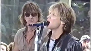 Bon Jovi Soundcheck Today Show 2000