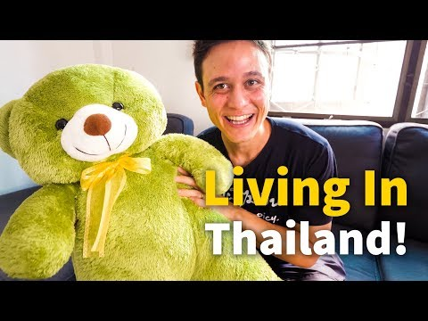 Living in Thailand - MY BANGKOK HOUSE TOUR   $601.69 Per Month in BKK + Cost of Living!