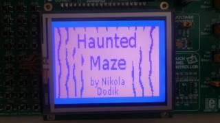 Haunted Maze - A Pac-Man Clone on The ATmega1280