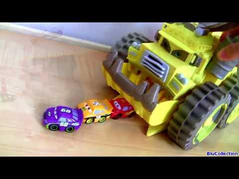 disney cars trucks mack semi truck octane gain hauler lightning mcqueen car toy screaming banshee youtube - Disney Cars Toys Truck