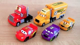 Disney Cars Trucks Mack Semi Truck Octane Gain Hauler, Lightning McQueen car-toy Screaming Banshee