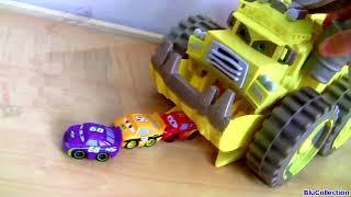 Disney Cars Trucks Mack Semi Truck Octane Gain Hauler, Lightning McQueen car-toy Screaming Banshee