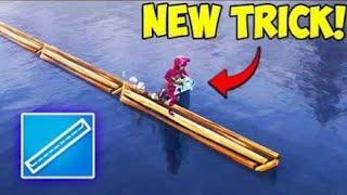 *Fortnite* New 101 IQ trick Cross loot lake easily