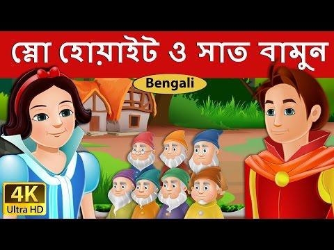 স্নো হোয়াইট ও সাত বামুন   Snow White And The Seven Dwarfs in Bengali   Bengali Fairy Tales
