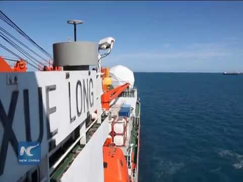 "Research vessel ""Snow Dragon"" reaches Australia"