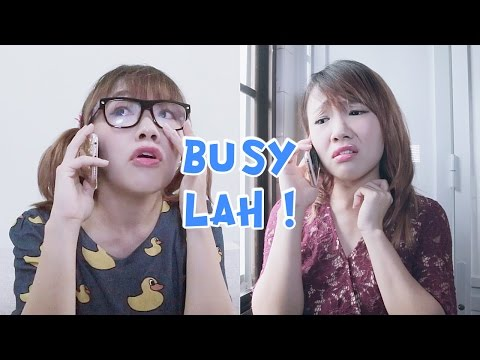 Busy lah! | EVALEE LIN