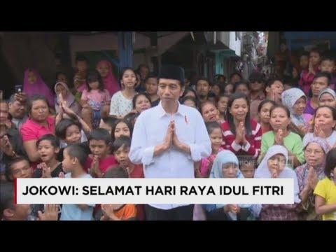 Salah Terus, Presiden Jokowi Di Behind The Scene Ucapan Selamat Hari Raya Idul Fitri