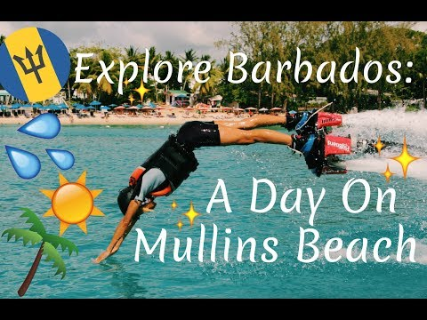 Explore Barbados: A Day On Mullins Beach