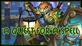 Hearthstone: A quest for a spell (quest rogue)