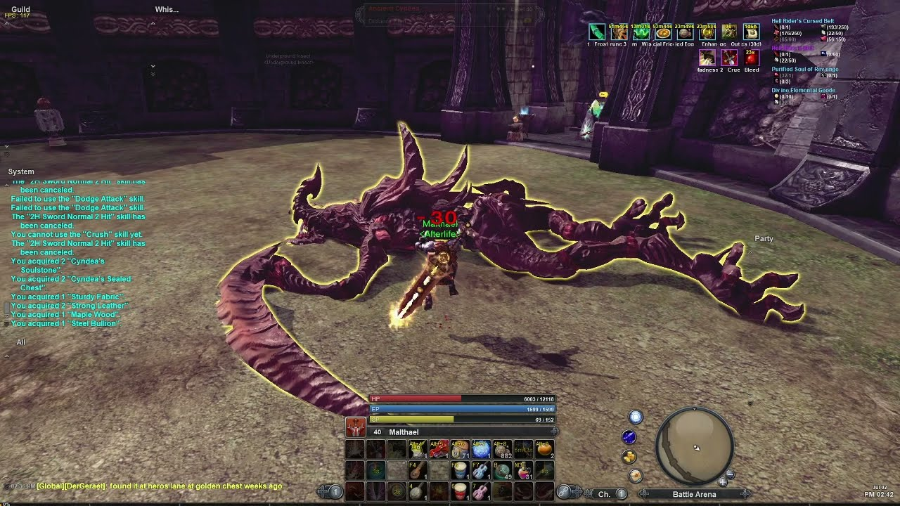 RaiderZ Beastmode Ancient Cyndea Solo