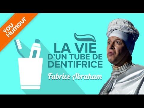 FABRICE ABRAHAM - La vie d'un tube de dentifrice