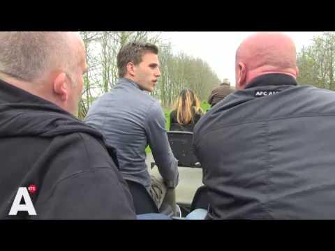 Joël Veltman op Landgoed Hoenderdaell.