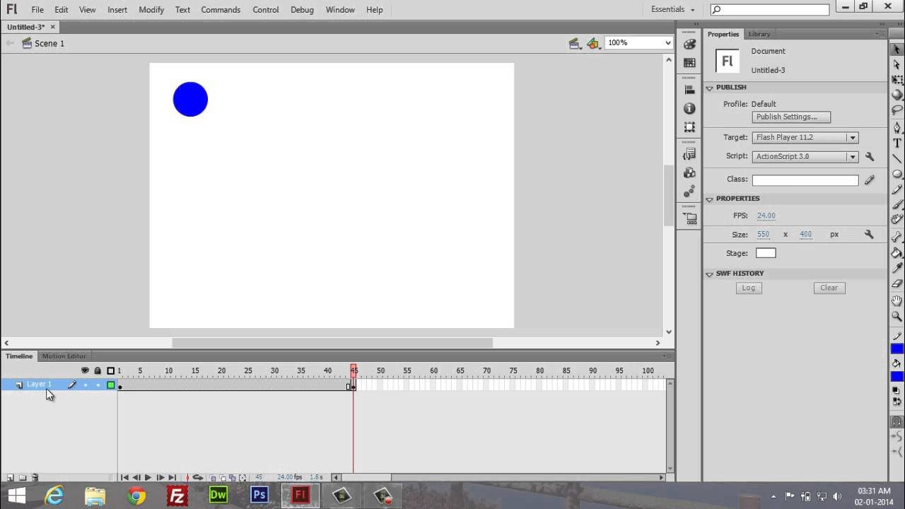 adobe flash professional cs6 tutorial 12 motion guide youtube rh youtube com adobe flash cs6 basics adobe flash cs6 basics