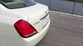 Видео-тест автомобиля Nissan Teana (PJ31-000261, Vq35de, белый, 2003 г.)