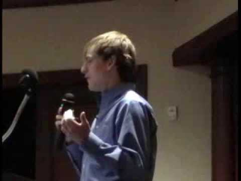 ★ Zack Kopplin ★PT I ★ CENTENARY COLLEGE ★  SHREVEPORT ★