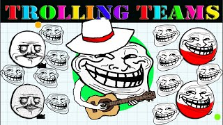 Agar.io ★Trolling Teams★ #Part 1