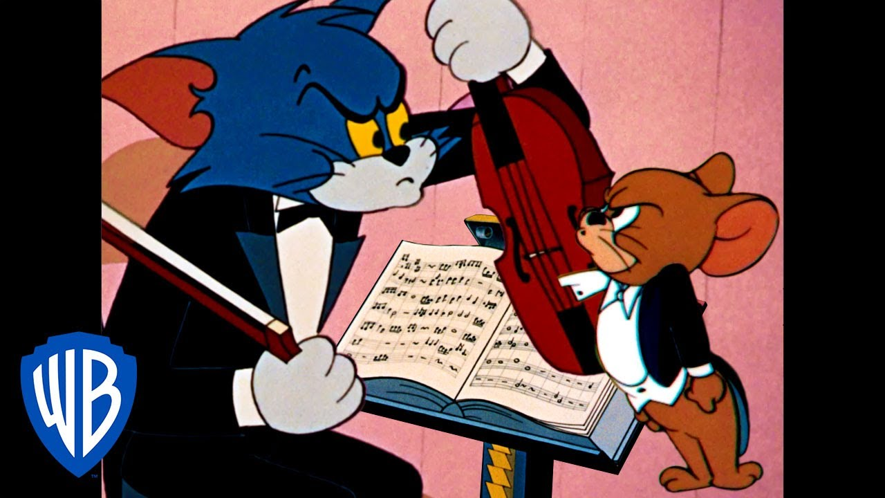 Tom Jerry Face The Music Classic Cartoon Compilation Wb