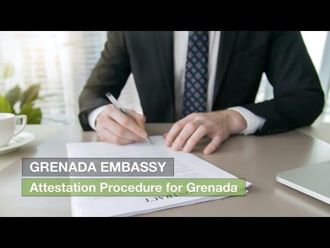 Attestation Procedure for Grenada Embassy