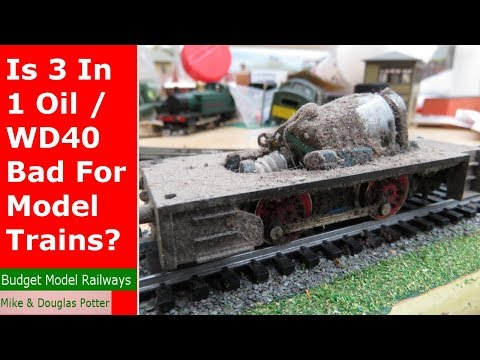 Is 3 In 1 Oil / WD40 Bad For Model Trains? – Model Railway Mythbusting