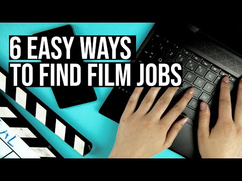 6+ EASY Ways to Find Entry Level Film Jobs