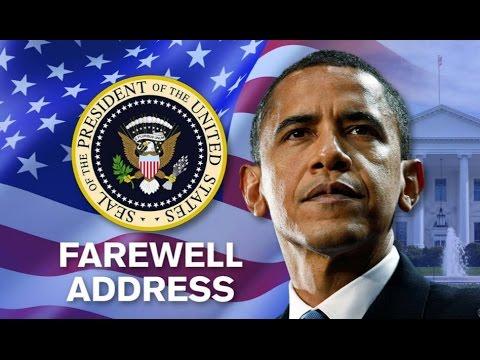President Barack Obama Delivers Farewell...