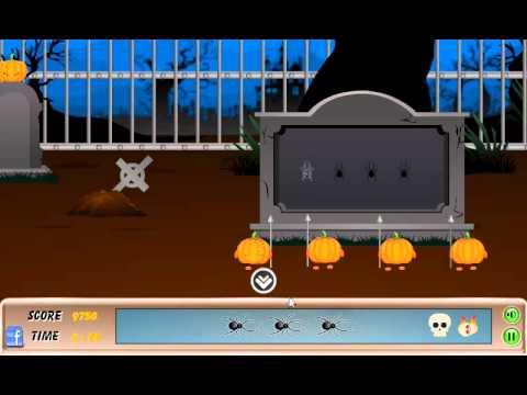 Halloween Graveyard Escape Walkthrough N Media Youtube