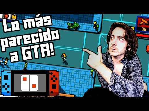 "UN ""GTA"" CLÁSICO Y FRIKI EN SWITCH 