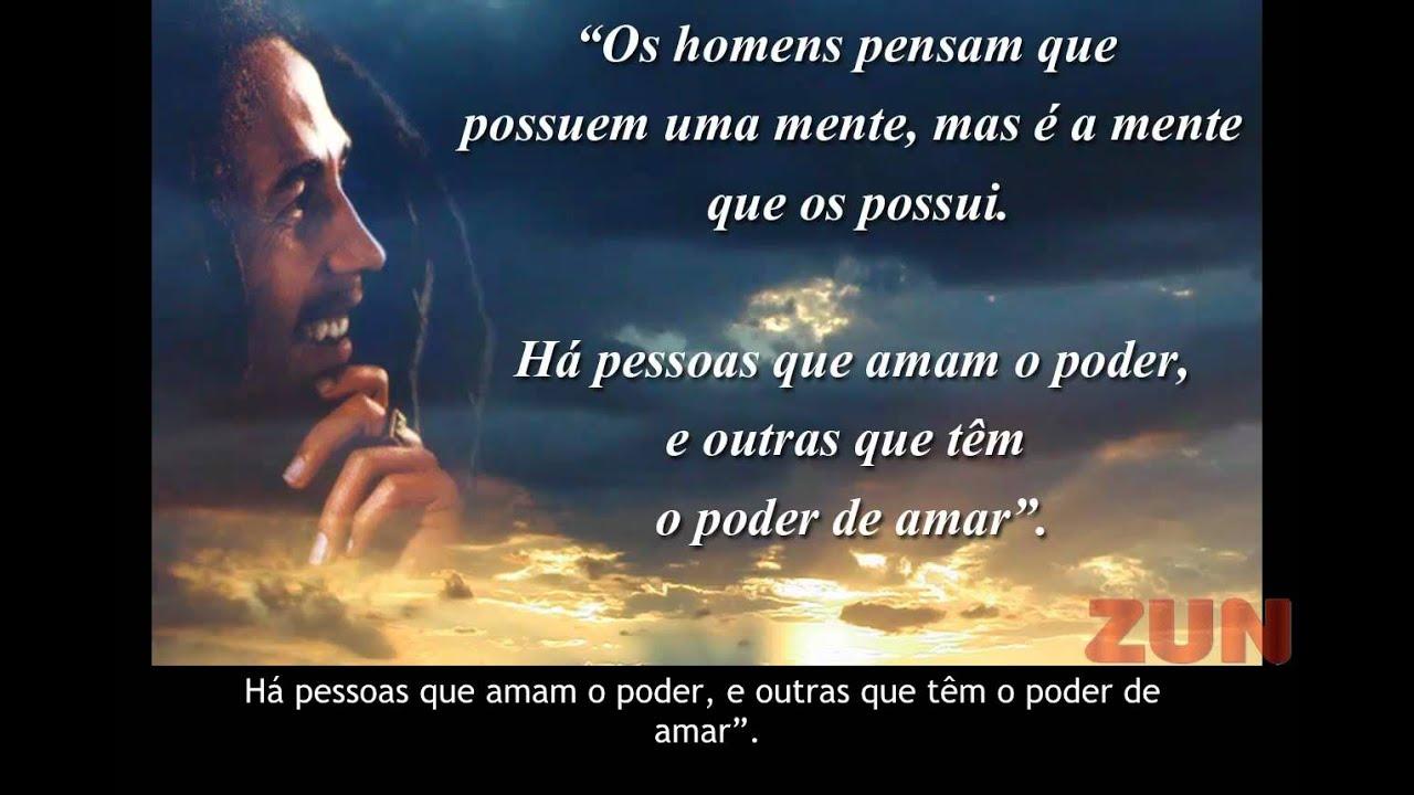 Frases Bob Marley Tumblr: FRASES DO BOB MARLEY DE PAZ