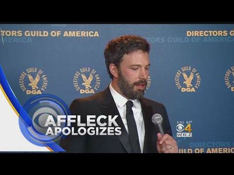Ben Affleck Apologizes For Inappropriate Incident On MTV In 2003