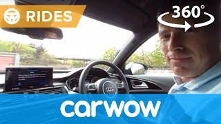 Audi A6 Saloon 2017 360 degree test drive | Passenger Rides