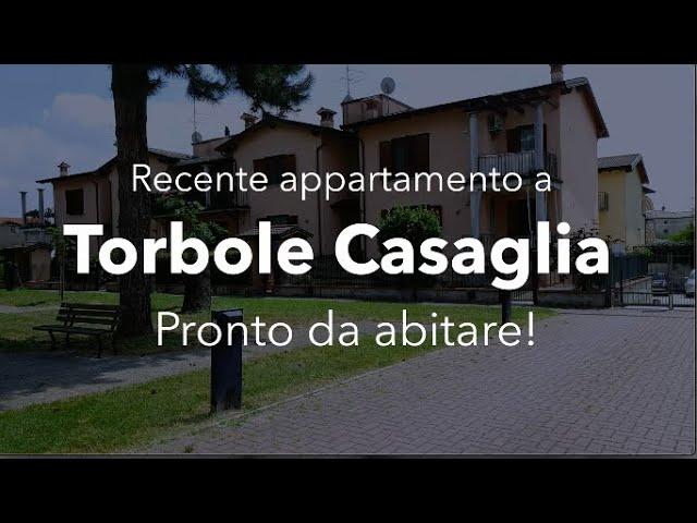 [TORBOLE CASAGLIA - Recente appartamento pronto da abitare!]