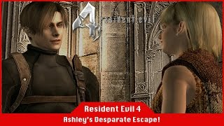 Rescue Ashley! | Her Desperate Escape - Resident Evil 4 [#07] [LiveStream]