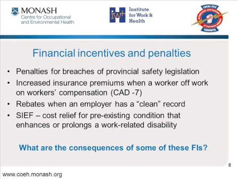Workers Compensation Financial Incentives IBEW 2012 0001