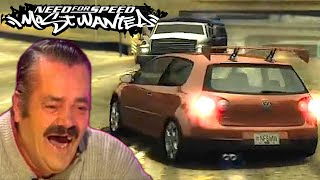 World Record Hunting in NFS Most Wanted | Speedrun Highlights | KuruHS