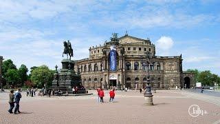 2014  Экскурсия в Дрезден. Германия(Столица Саксонии Дрезден стоит на берегах реки Эльбы. В старой части города находится дворцовый ансамбль..., 2014-05-23T07:54:23.000Z)
