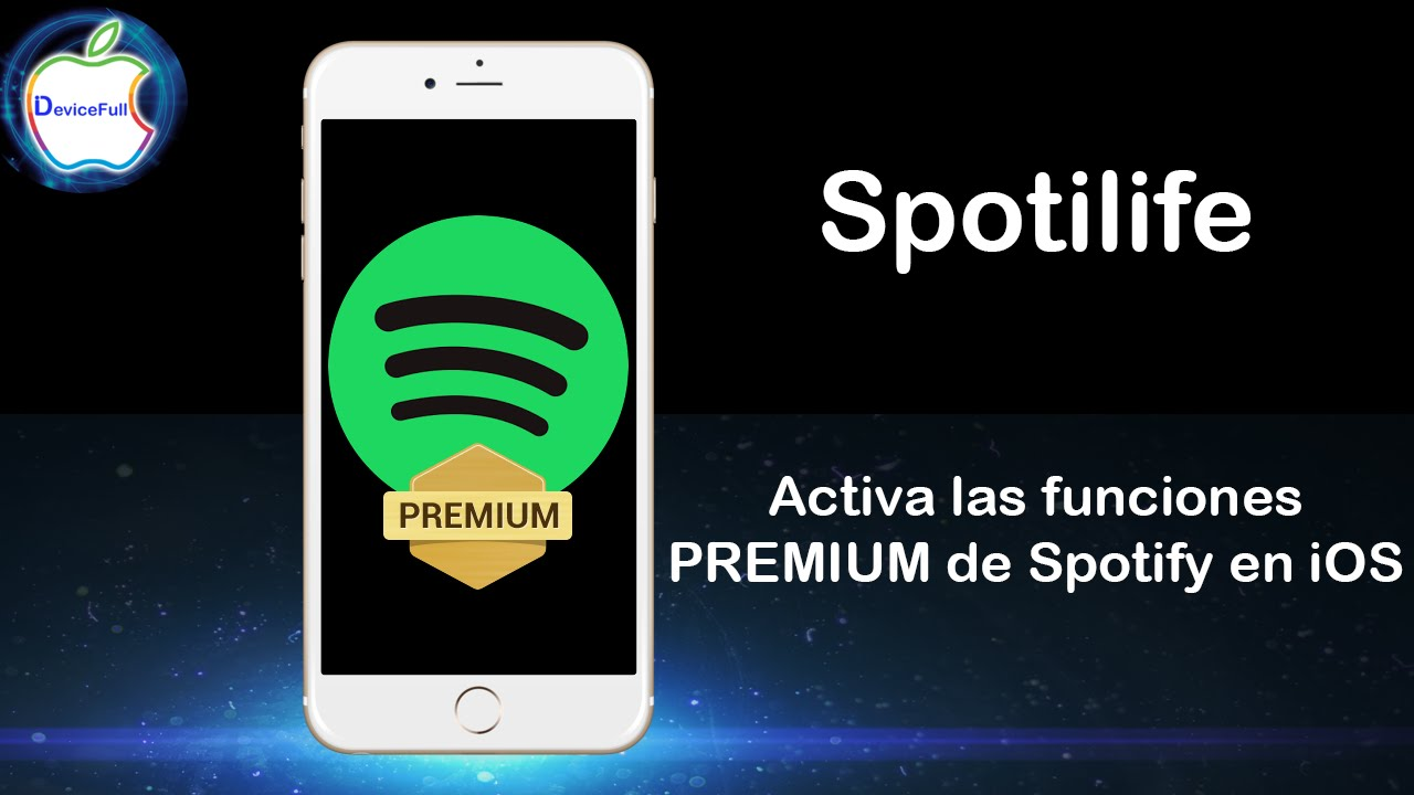 Spotify PREMIUM iOS (Cydia Tweak)