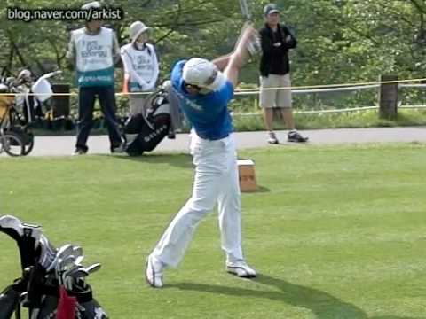 [300FPS] Bae Sang Moon slow motion Driver Golf Swing (4)