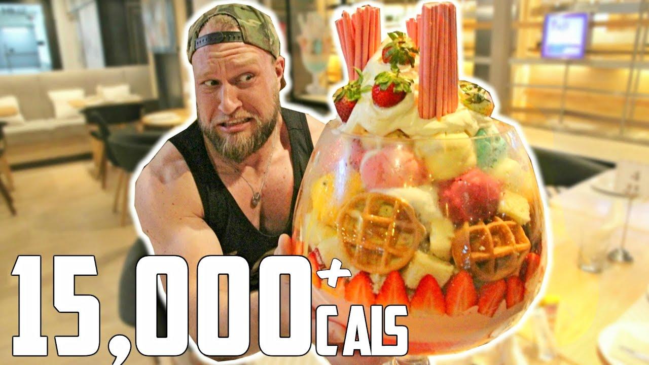 Worlds Biggest Ice Cream Challenge 15 000 Calories