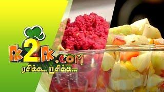 Rasikka Rusikka 17-04-2015 Oats Beetroot Kesari & Summer Cooler Juice