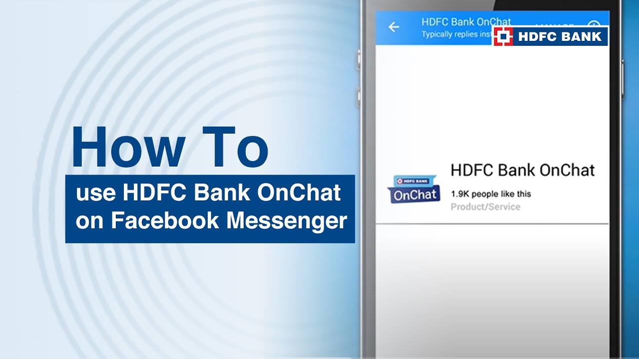 HDFC Bank - OnChat