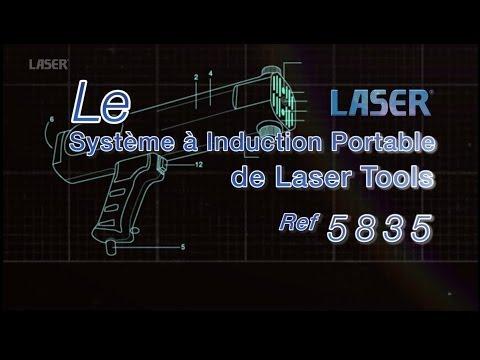 Ref: 5835: Le Système à Induction portable de Laser Tools