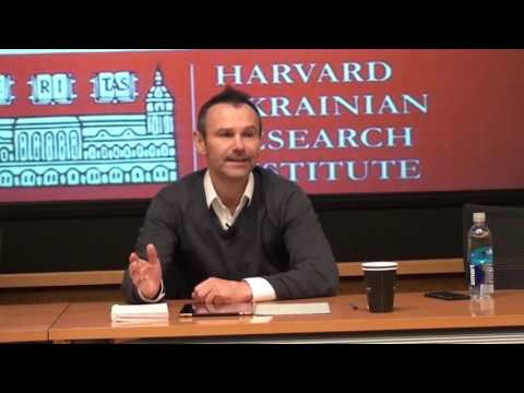 Who Is Ukraine's Biggest Enemy? A Lecture by Sviatoslav Vakarchuk, Yale World Fellow