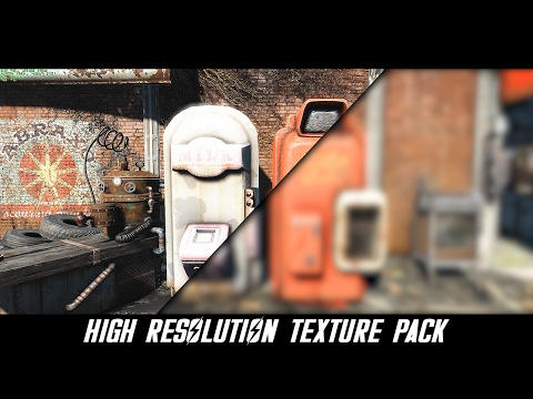 how to i download fallout 4 high resolution texture pack