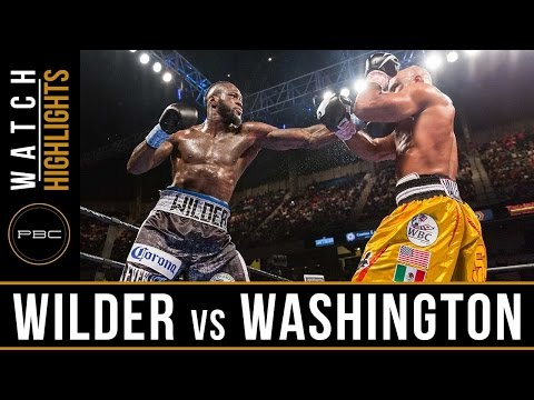 Wilder vs Washington HIGHLIGHTS: February 25, 2017 - PBC on FOX