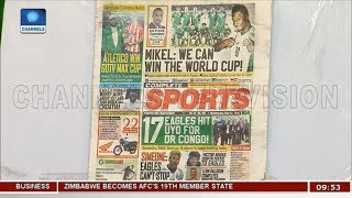 Nigeria Can Win The World Cup - Mikel   Sports This Morning  
