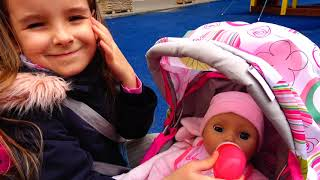 Играем с беби бон Настя как мама Ксюша и Арина