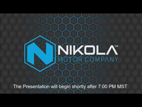 Unveiling of the Nikola One