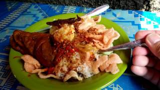 Nasi Ulam Pasar Petak Sembilan - Jakarta Street Food - Indonesian Culinary